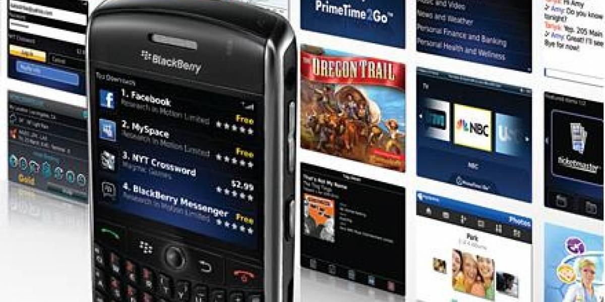 Tienda App World de BlackBerry alcanza las diez mil aplicaciones