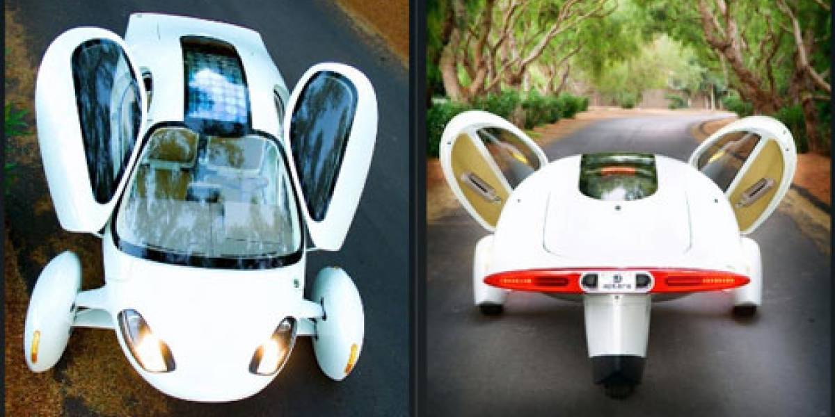 Vuela por las carreteras en el auto eléctrico Aptera