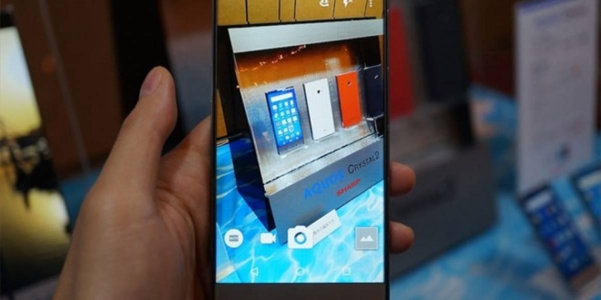 Sharp lanza el Aquos Crystal 2, otro teléfono casi sin bordes