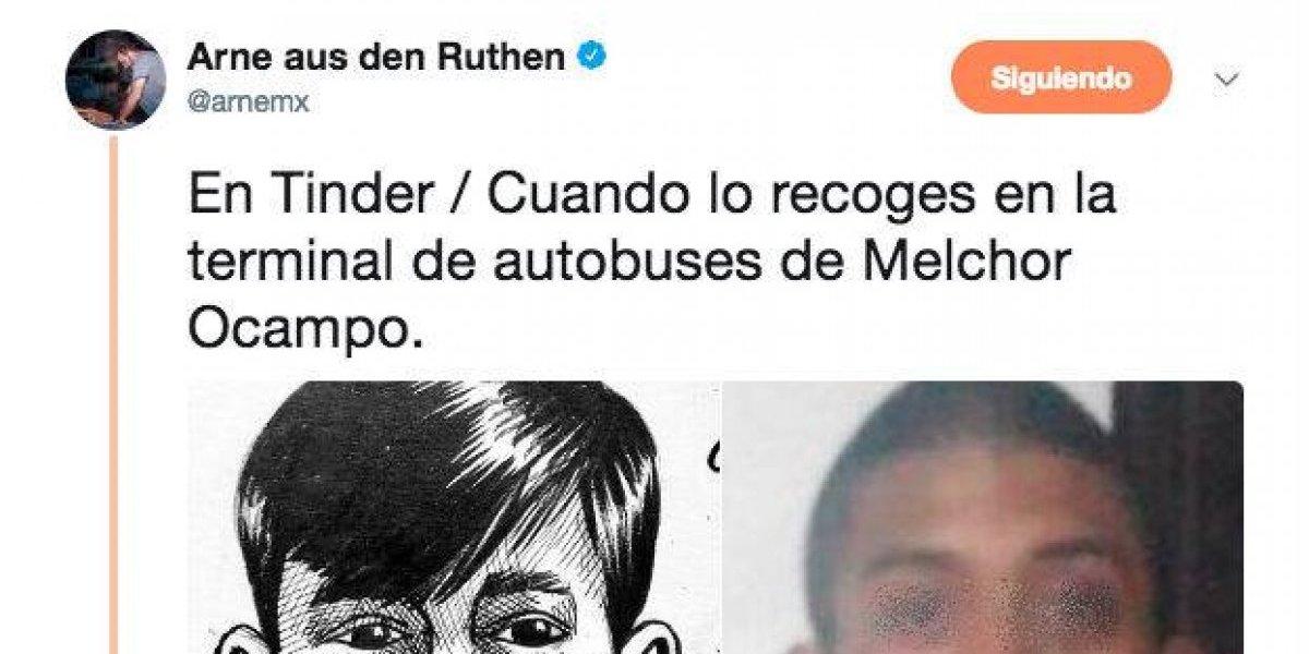Arne, el del poder Poder Anti Gandalla, se burla de desaparición de Marco Antonio