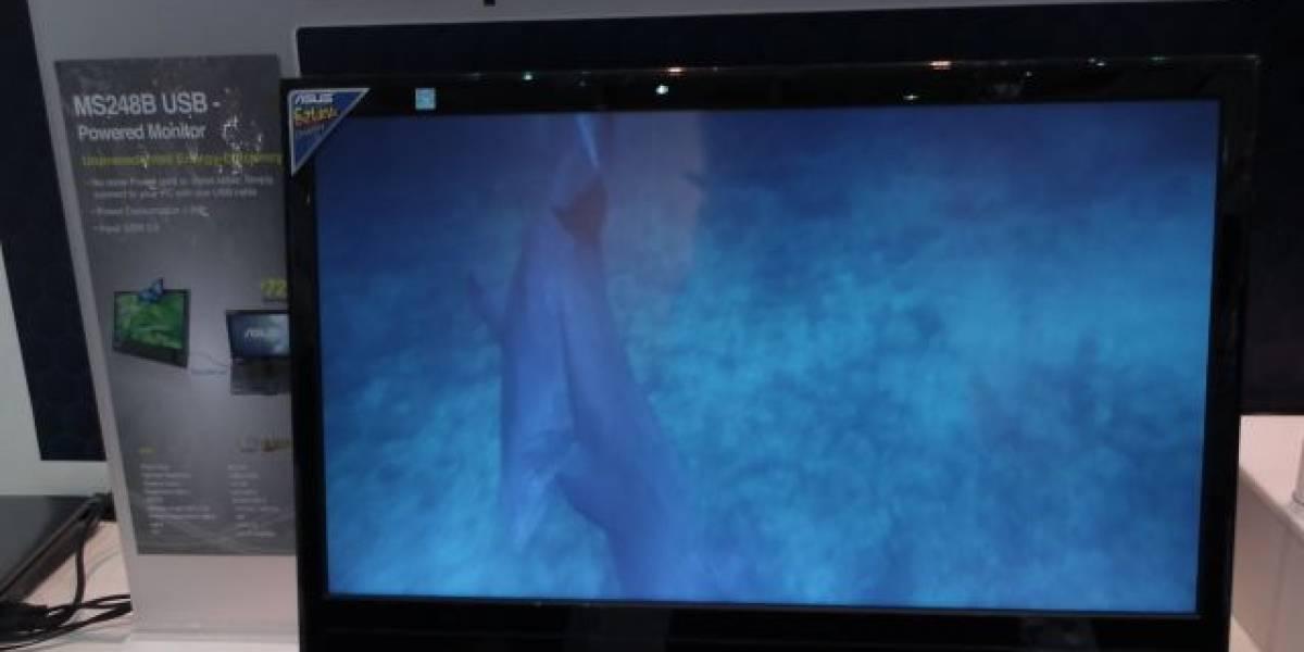 ASUS presenta monitor de 24 pulgadas para conectar vía USB 3.0