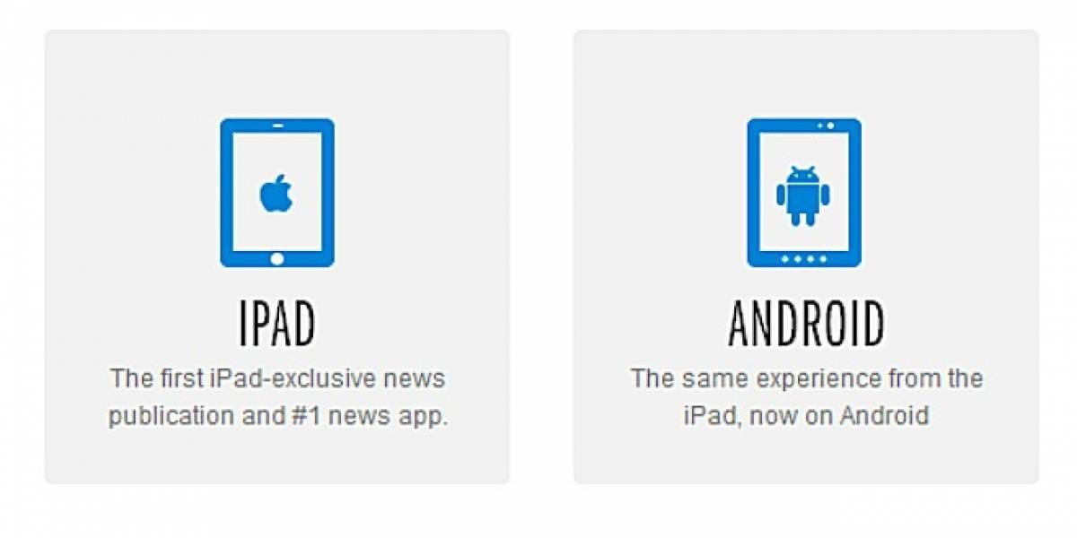 The Daily ya no es exclusivo para iPad y ahora llega a tablets Android