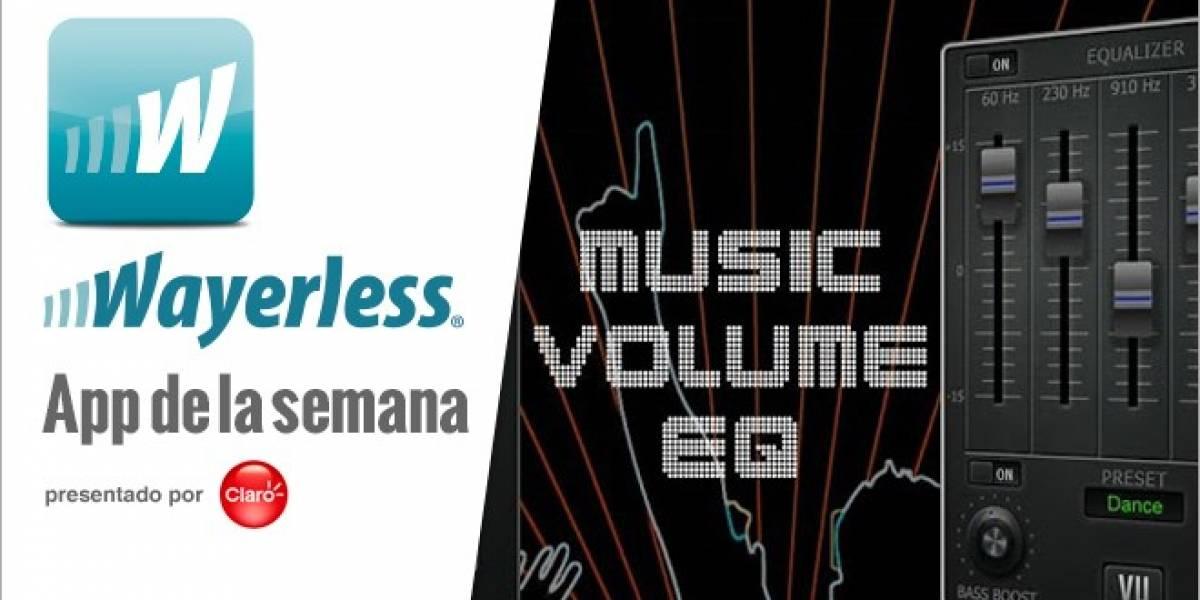 Music Volumen EQ: Mejora la calidad de sonido en tu Android