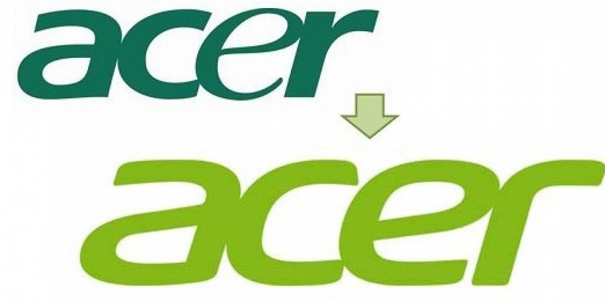 La compañía Acer cambia su logo