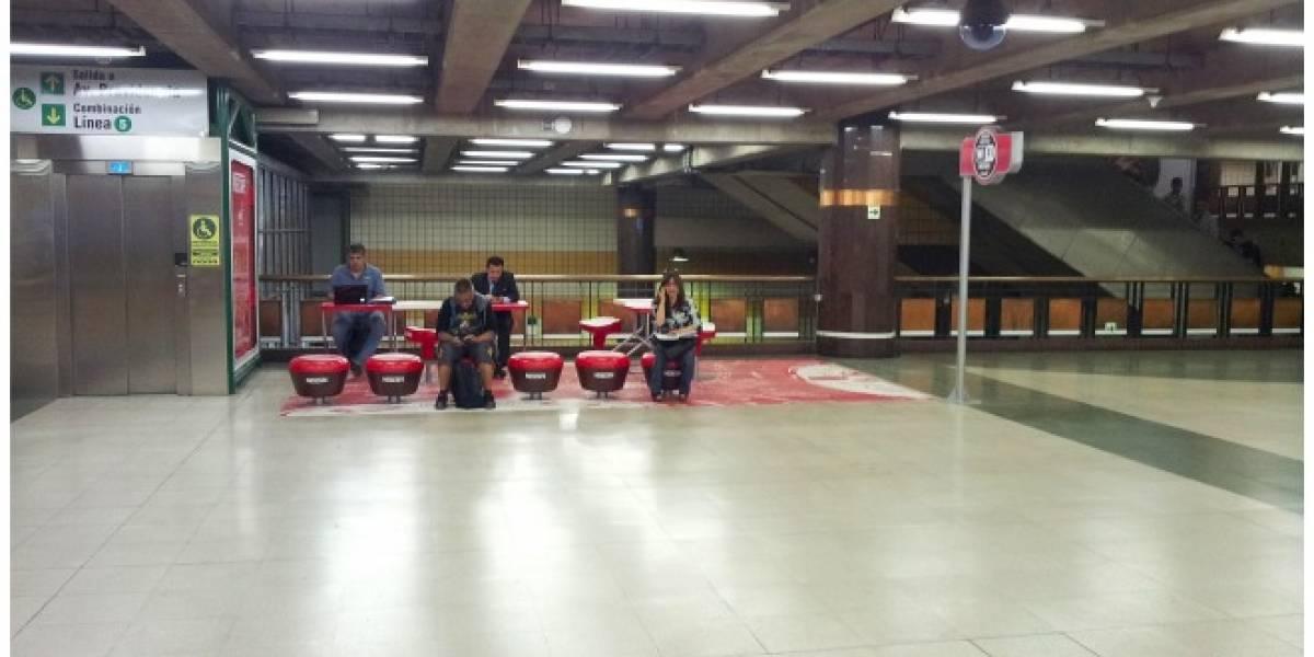 Chile: 21 estaciones del Metro de Santiago tendrán zonas de Wi-Fi gratuito