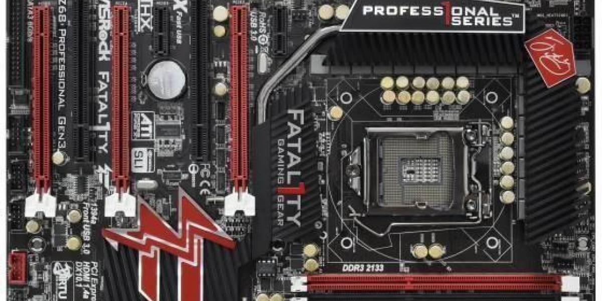 Asrock Fatal1ty Z68 Professional Gen3: Tarjeta madre PCIe 3.0
