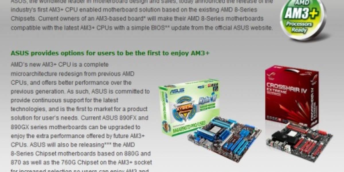 Retro-Compatibilidad AM3+/AM3 confirmada