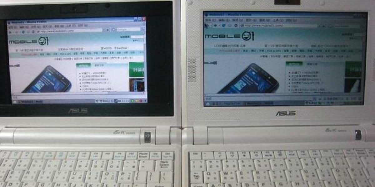 CES 2008: Asus EEE con pantalla de 8.9 pulgadas en acción