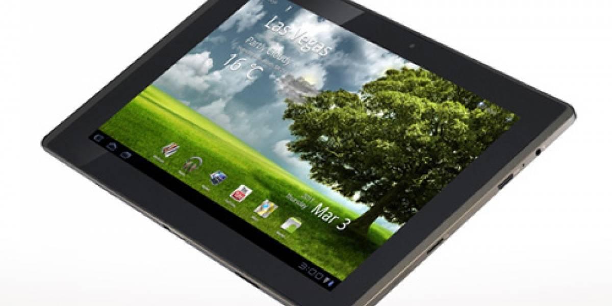Asus pone a la venta el Eee Pad Transformer, un tablet con Honeycomb