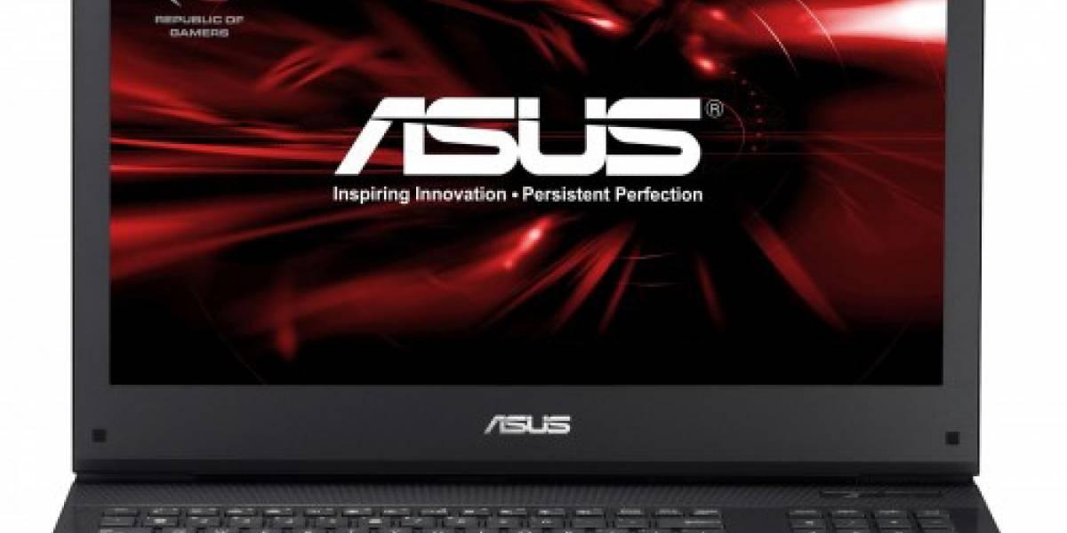 Asus presenta G74, notebook con 4 núcleos para gamers exigentes