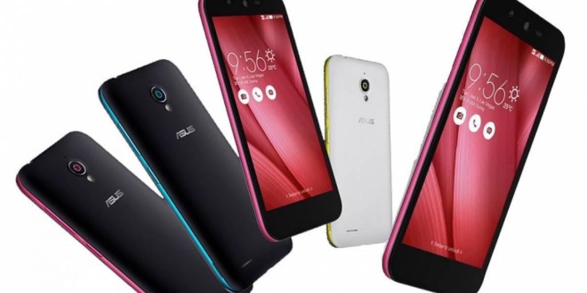 Asus Live con su pantalla 720p es la evolución económica del Zenfone