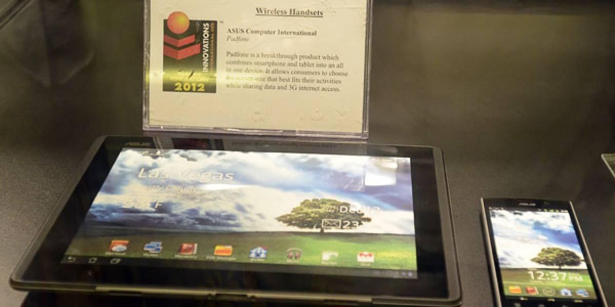 CES 2012: Asoma un prototipo del Asus PadFone