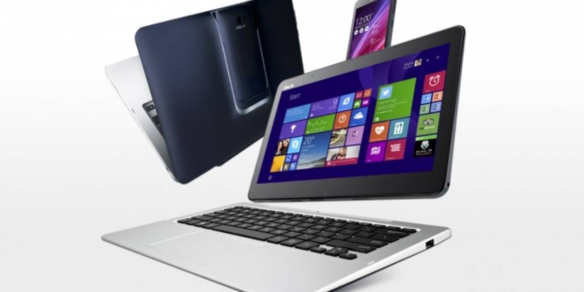 Asus Transformer Book V: laptop, tablet y con smartphone includo