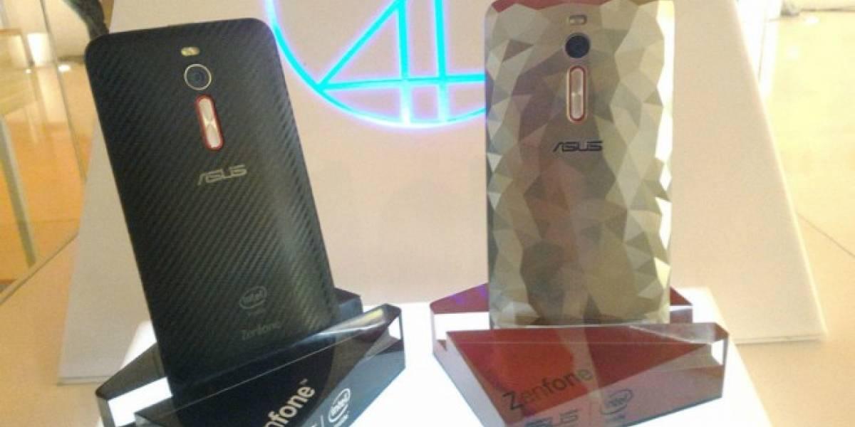 ASUS Zenfone 2 Deluxe es el primer teléfono con 256GB de almacenamiento