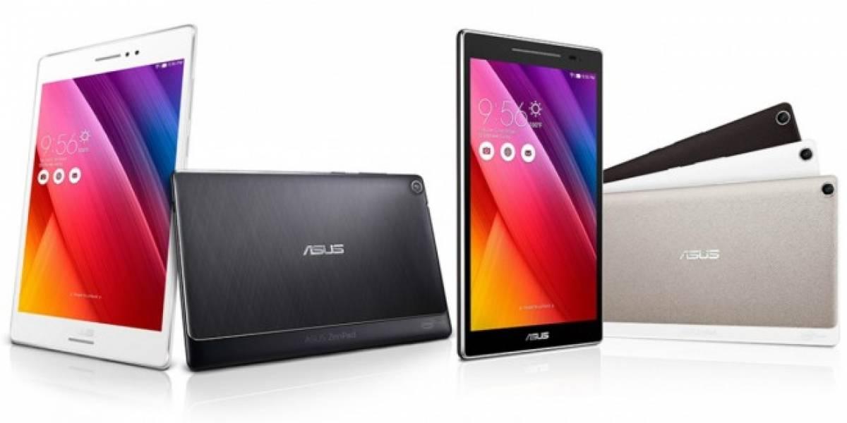 ASUS presenta la nueva tablet ZenPad 8 con cubiertas intercambiables