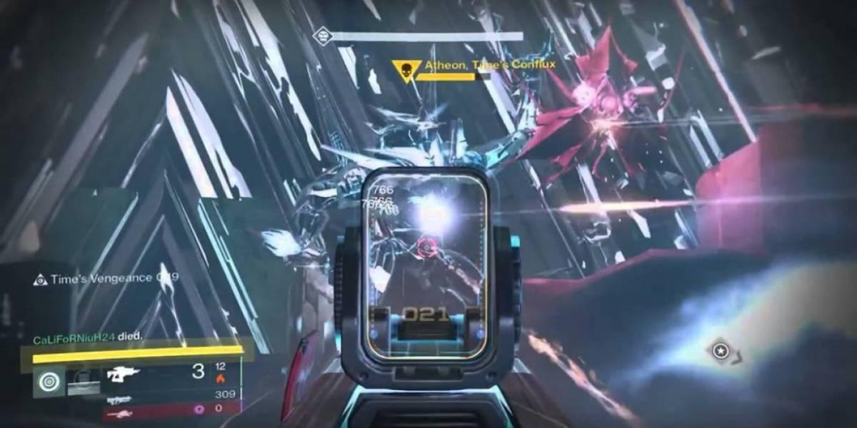 Bungie aumentará la dificultad de Atheon en la Cámara de Cristal de Destiny