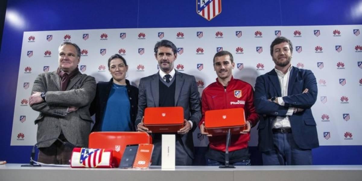 Huawei lanza edición limitada del P8 lite de Atlético de Madrid