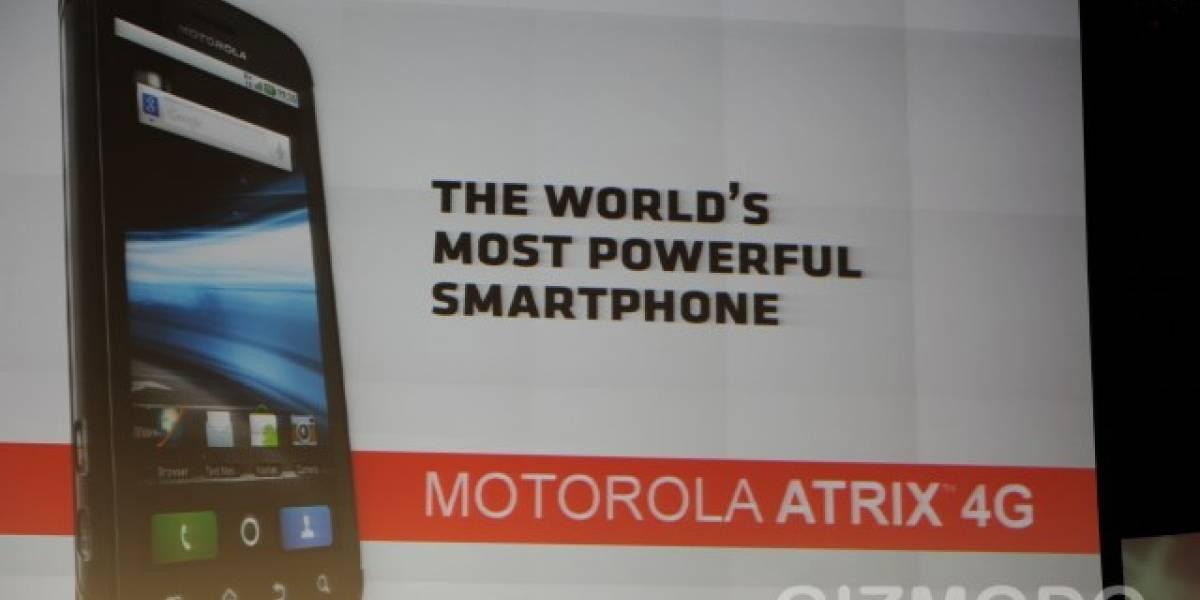 [CES 2011] Motorola Atrix: el smartphone que se convierte en smartbook