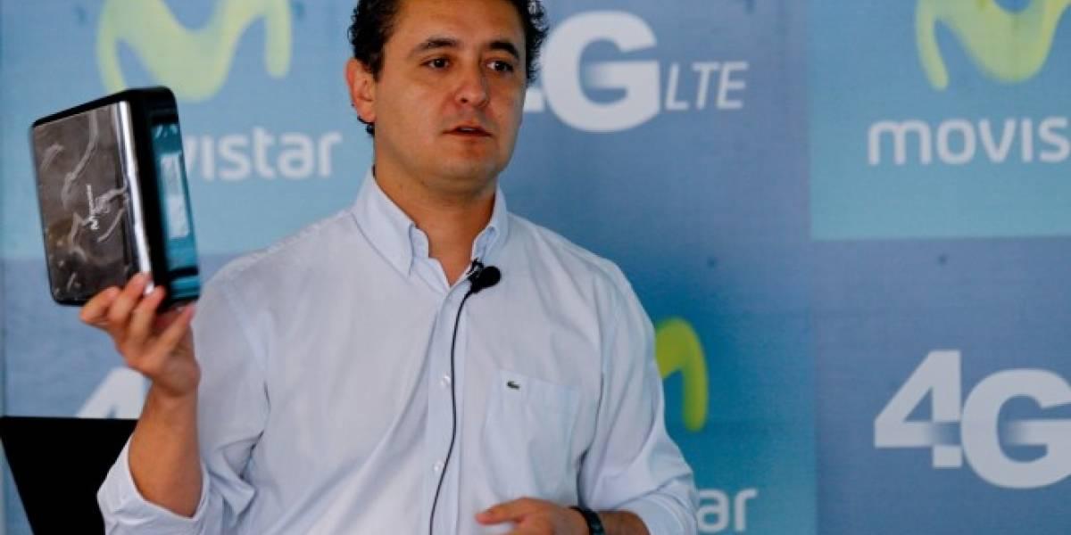 Movistar lanza en Chile planes de banda ancha móvil 4G LTE