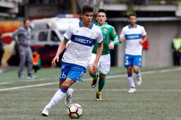 Benjamín Vidal tiene contrato con la UC hasta fines de 2020 / Foto: Agencia UNO