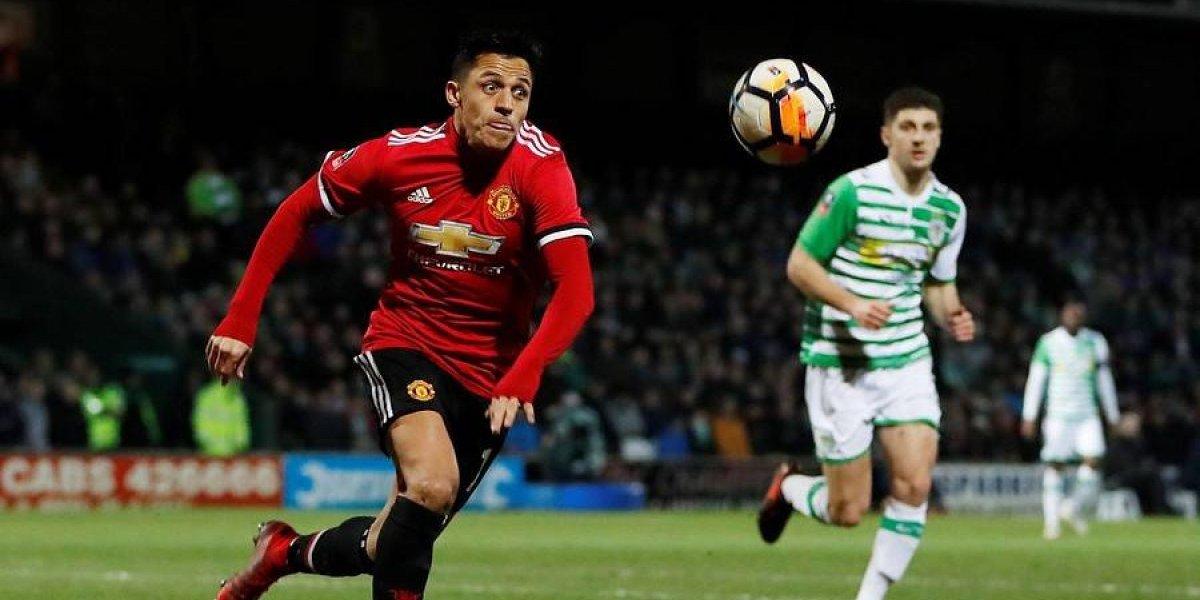El Manchester United de Alexis tuvo un favorable sorteo para los octavos de la FA Cup