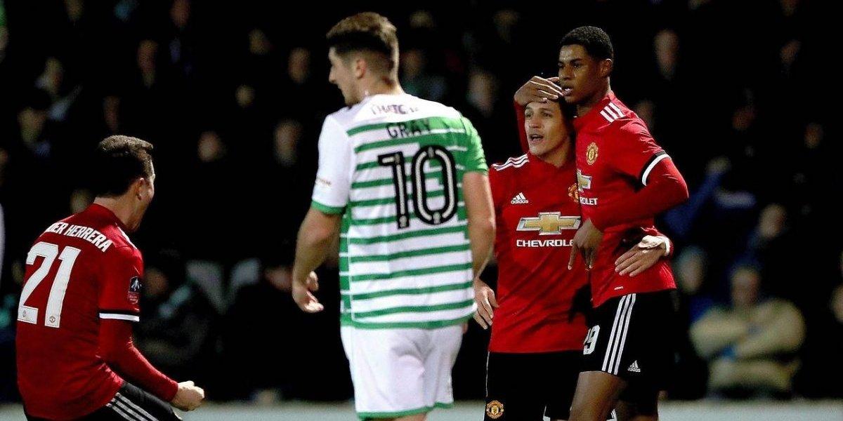 Otro damnificado: Rashford es aconsejado a irse del United por la llegada de Alexis
