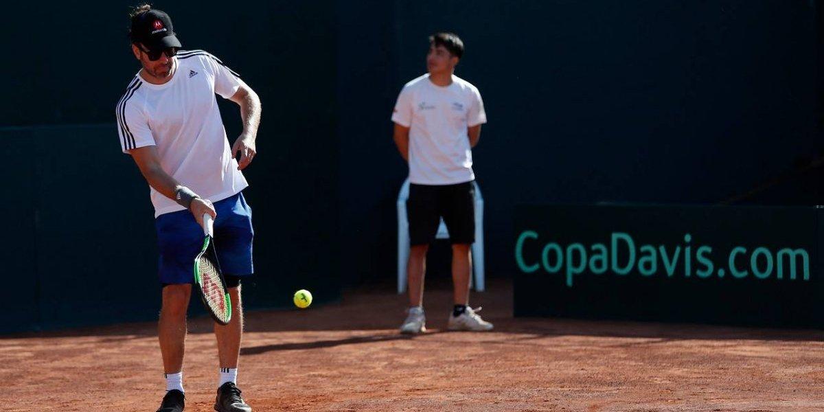 """Massú vive como nadie la Copa Davis: """"La motivación de representar a tu país es máxima"""""""