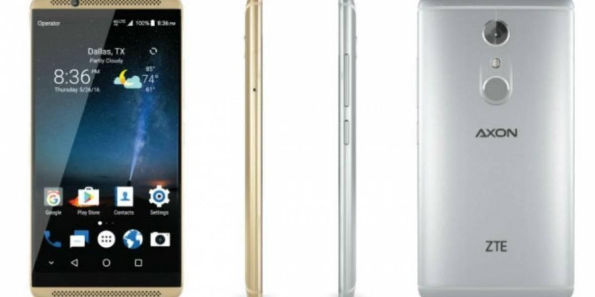 ZTE presentó nuevo Axon 7, un potente móvil con 6GB de RAM