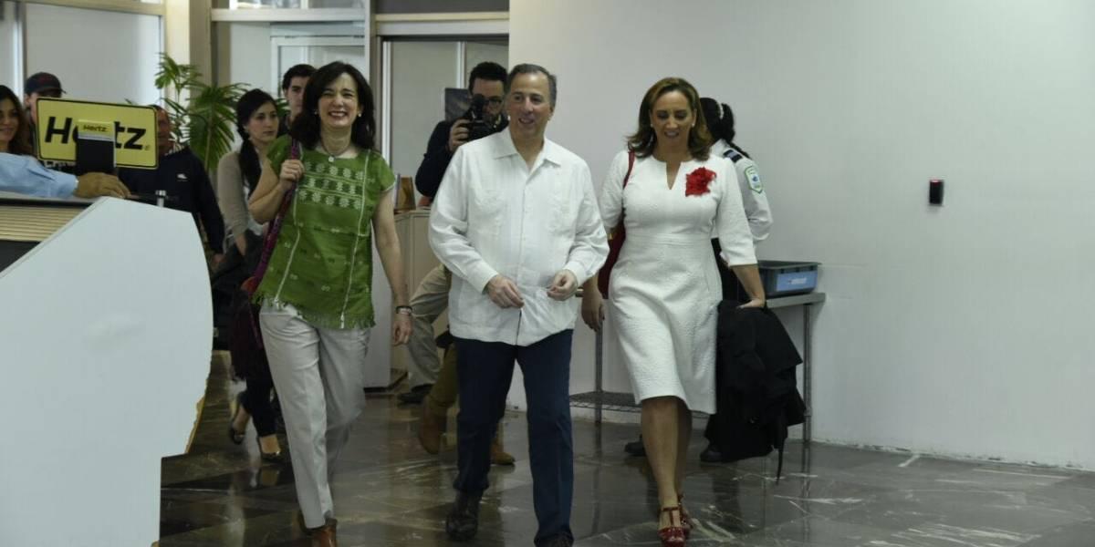 Meade visita Acapulco para reunirse con militantes priistas