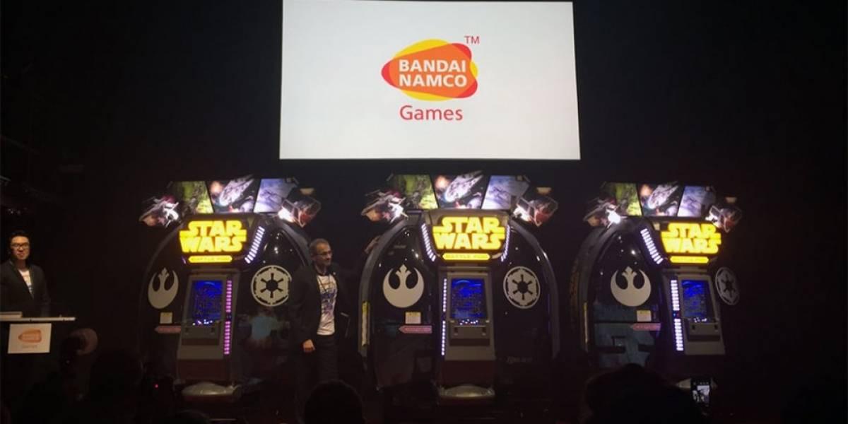 Bandai Namco reveló nuevo arcade de Star Wars