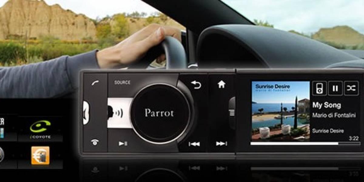 Presentan hoy en España el Parrot Asteroid, la radio Android para el automóvil