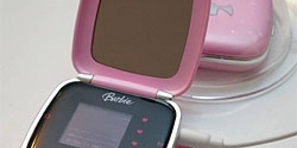 Barbie MP3 Player con espejo: Lo último que faltaba