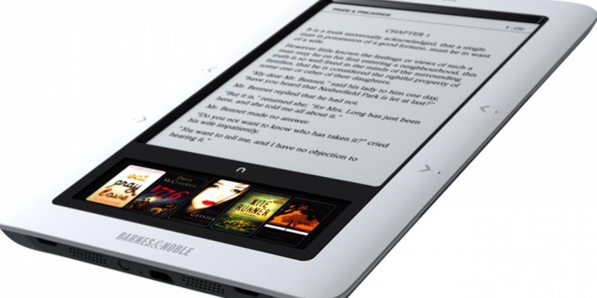 Nook es el producto más vendido en la historia de Barnes & Noble