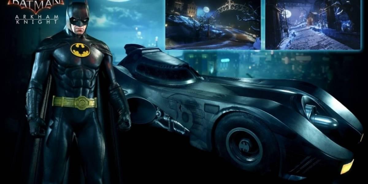 El tráiler del pack de Batman 1989 y su Batimobile para Arkham Knight