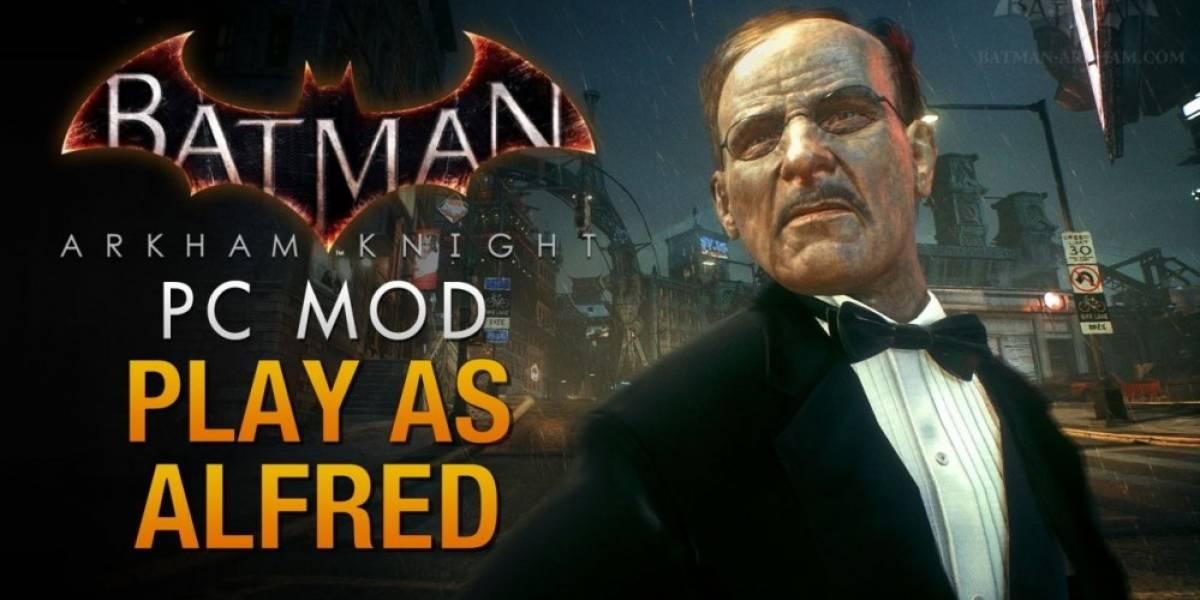 Vean a Alfred pateando traseros en mod de Batman: Arkham Knight