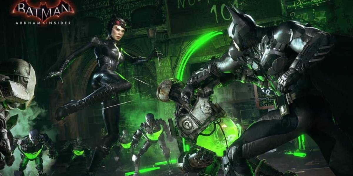 Así se ve el Dual Play en Batman: Arkham Knight