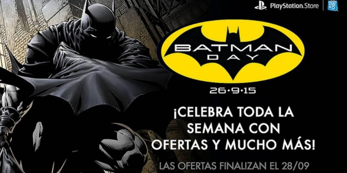 Sony celebra el Batman Day con venta especial en PlayStation Store