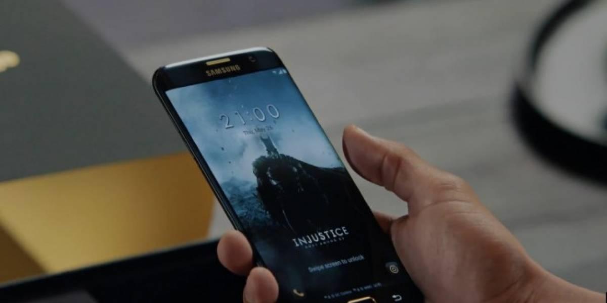 Samsung lanza un Galaxy S7 edge edición especial de Batman