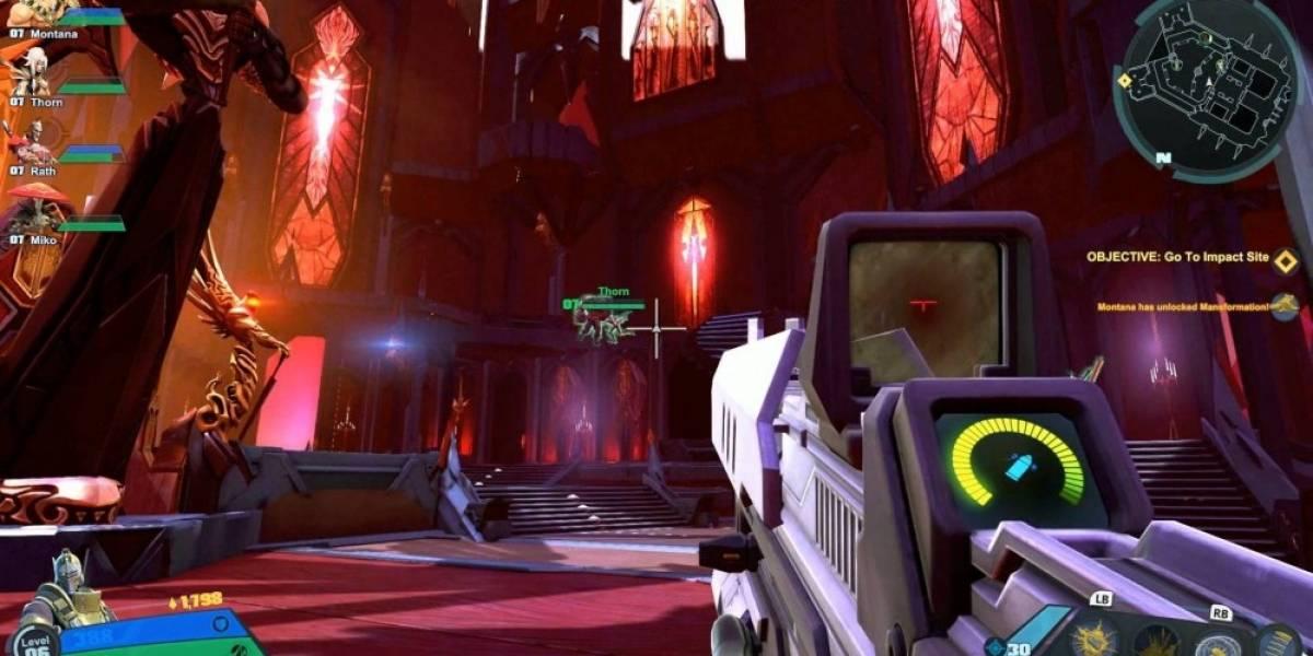 18 minutos de Battleborn, el shooter/MOBA de Gearbox