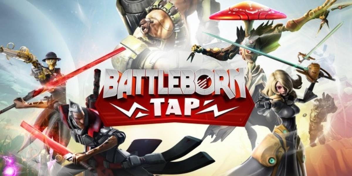 Ya puedes jugar Battleborn Tap en tu móvil