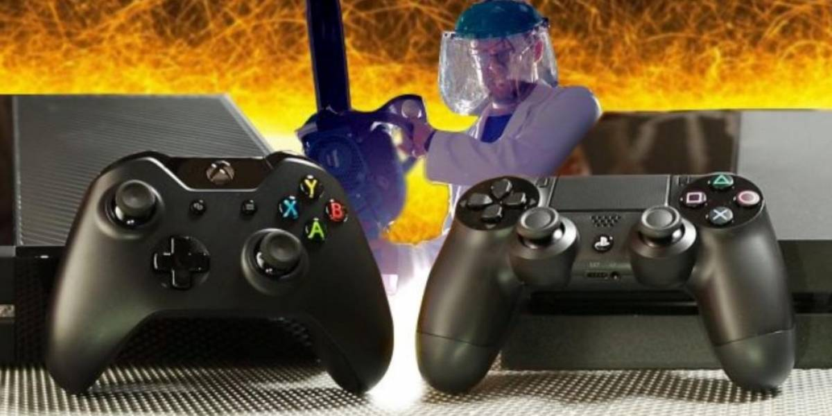 Xbox One y PS4 son puestas en prueba de caída libre, ¿cuál consola sobrevivirá?