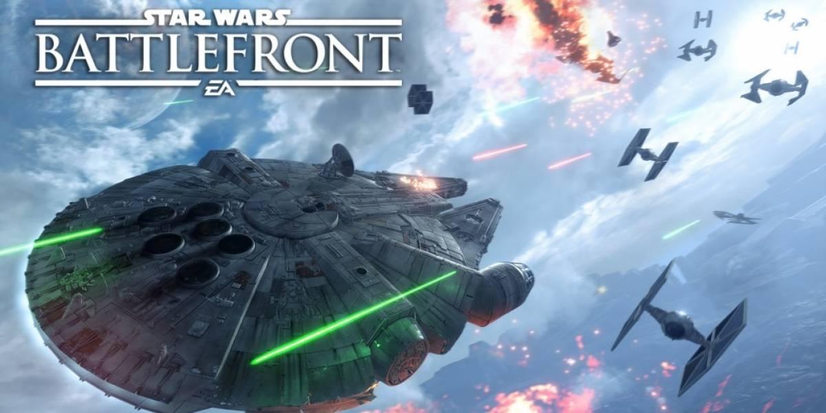 Solo batallas aéreas en el nuevo tráiler de Star Wars: Battlefront #gamescom2015
