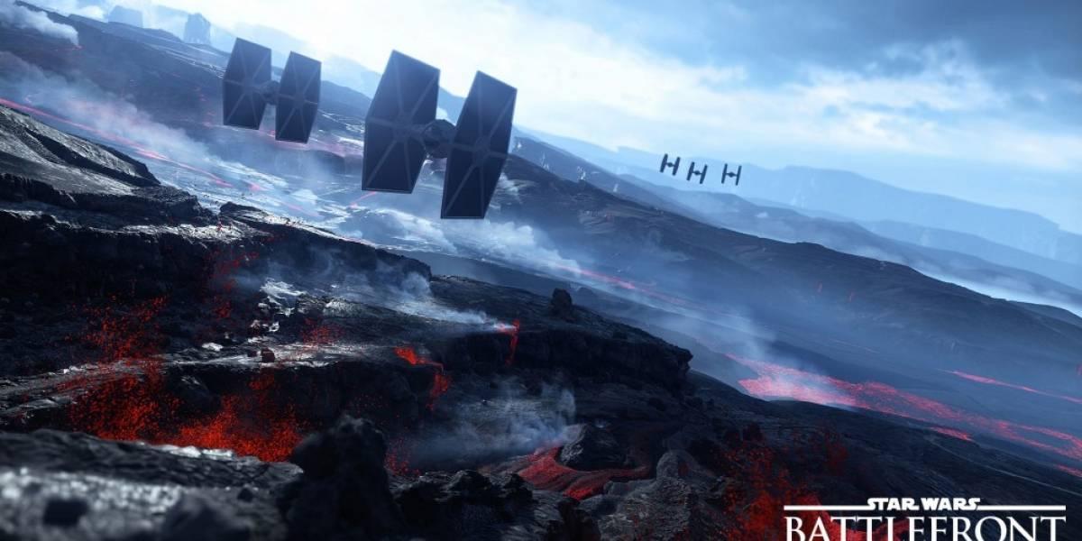 Star Wars: Battlefront se lanzará con 12 mapas