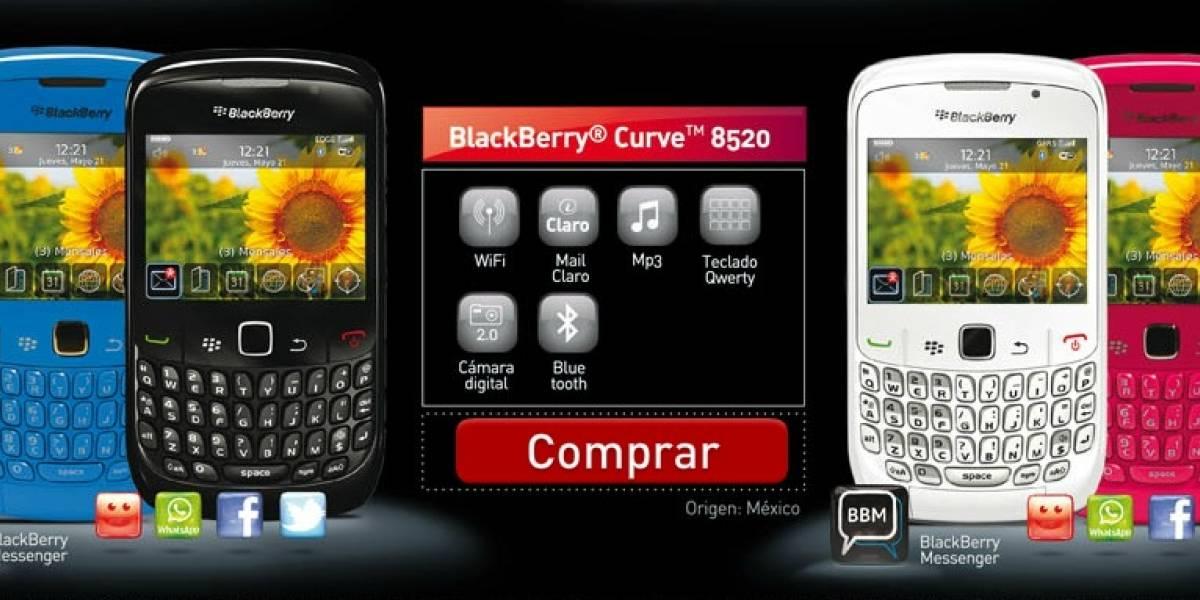 Argentina: La operadora Claro lanza servicio BlackBerry prepago