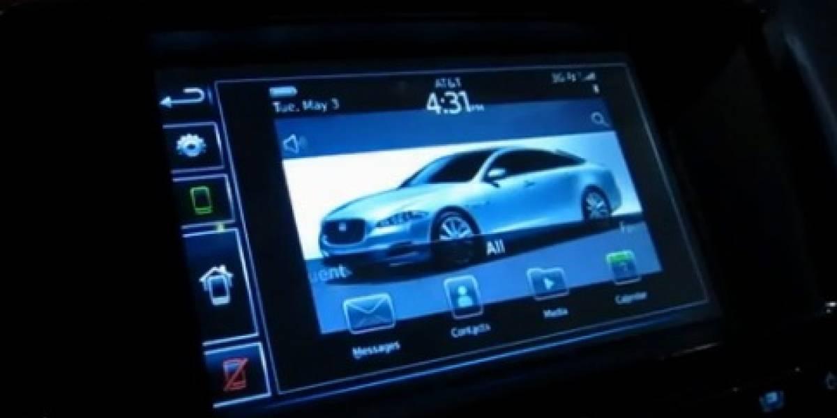 Research in Motion presenta la integración de BlackBerry en Jaguar XJ
