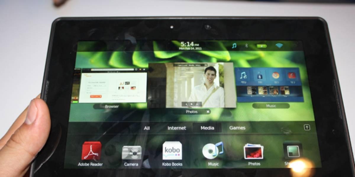MWC2011: BlackBerry PlayBook a primera vista [Actualizado con video]