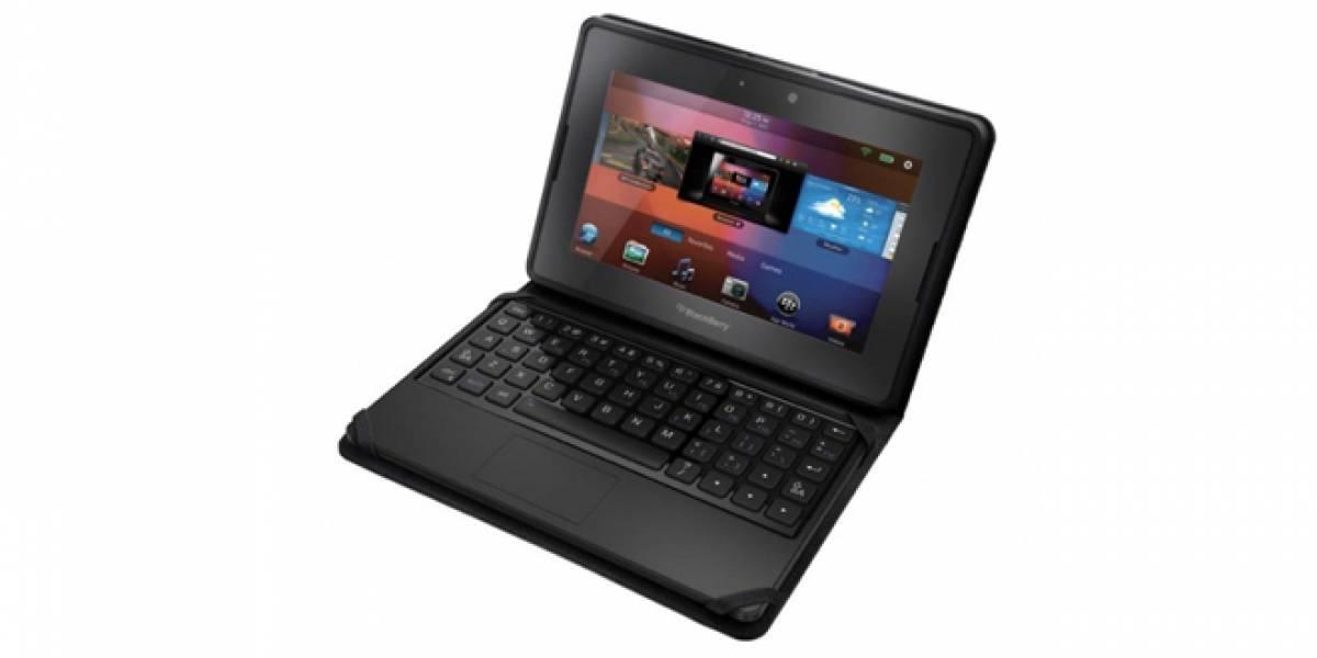 Usa tu PlayBook como una portátil con este accesorio-teclado oficial de RIM