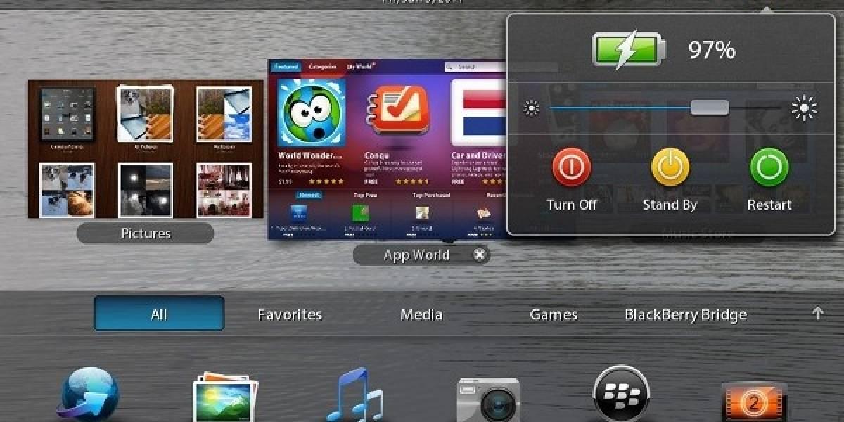 Aparece segunda actualización de QNX para el tablet PlayBook