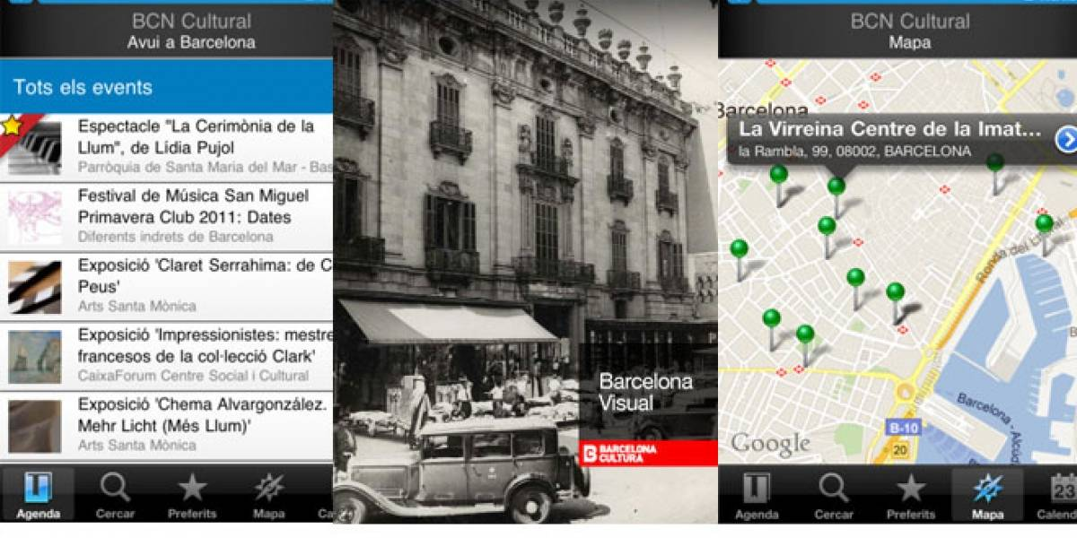 Barcelona lanza dos aplicaciones móviles de cultura para iOS