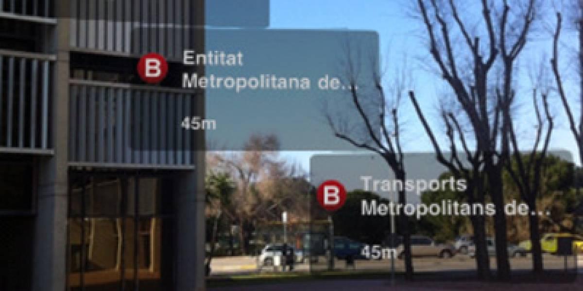 Barcelona cuenta con Realidad Aumentada en su transporte público